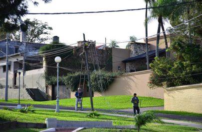 Mejoran redes eléctricas e iluminación en el Paseo Costanera