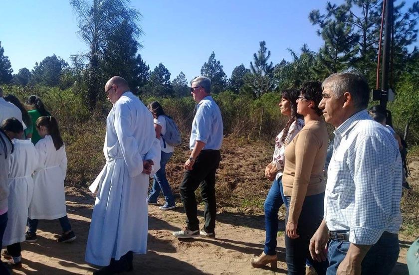 Chavez en la fiesta de San Juan Bautista