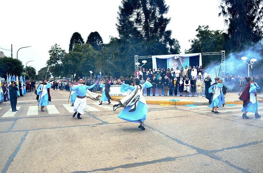 Bella Vista festejó el Día de la Independencia Argentina