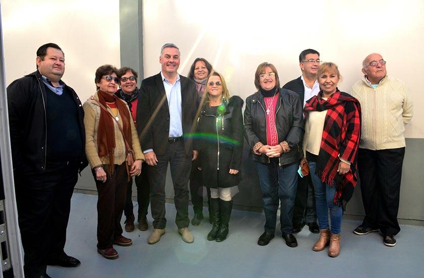 Chavez recibió a los ministros de Educación y Producción