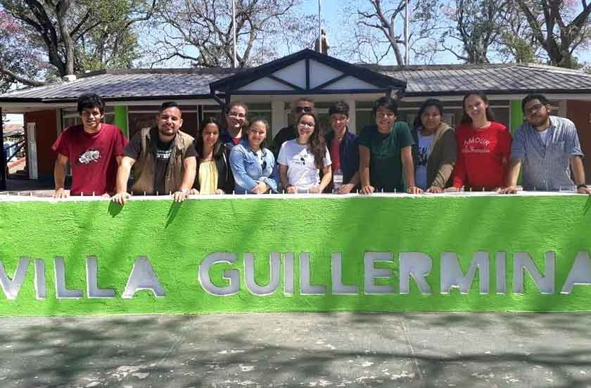 El Ballet Folklórico de Bella Vista en el Pre Festival de Villa Guillermina