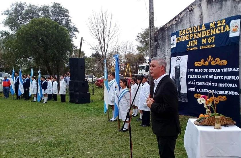 Colonia Progreso festejó sus 131 años de fundación