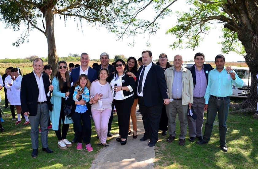 Chavez participó del aniversario de la Escuela 891 de Raíces Norte