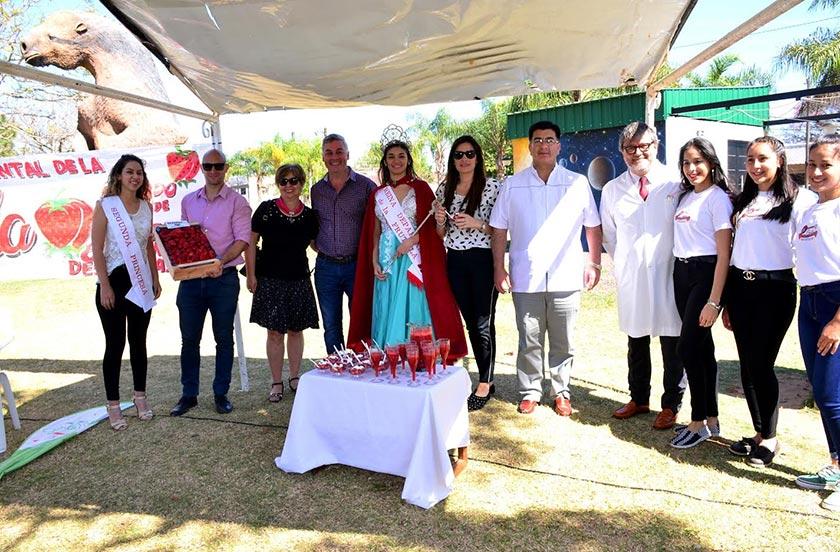 Presentaron la 6° Fiesta Departamental de la Frutilla