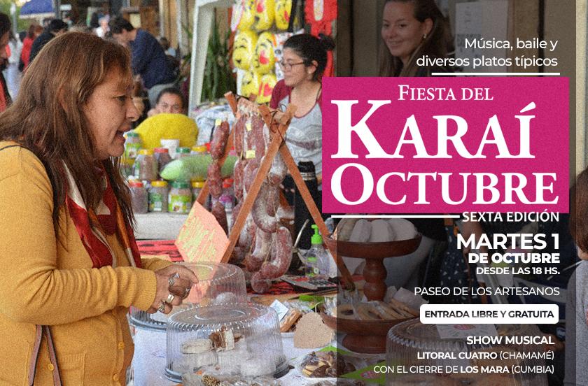Preparan la sexta edición del Karaí Octubre