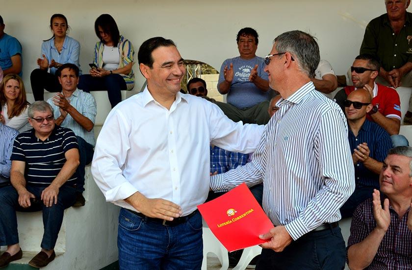 El gobernador Valdés inauguró la 3° Fiesta Rural de Bella Vista