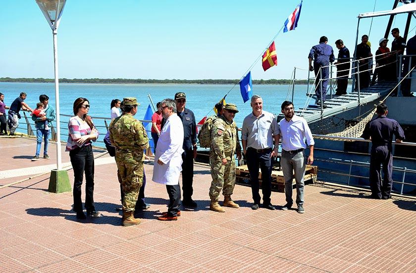 Fuerzas Armadas realizan operativo socio sanitario en Bella Vista