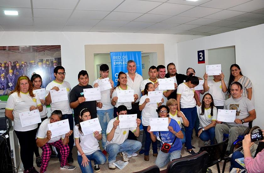 Entregan Certificados de Capacitación Laboral 2019
