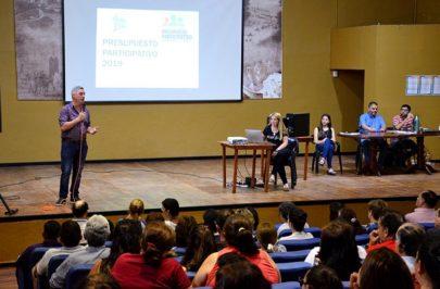 Chavez dio a conocer a los ganadores del Presupuesto Participativo 2019