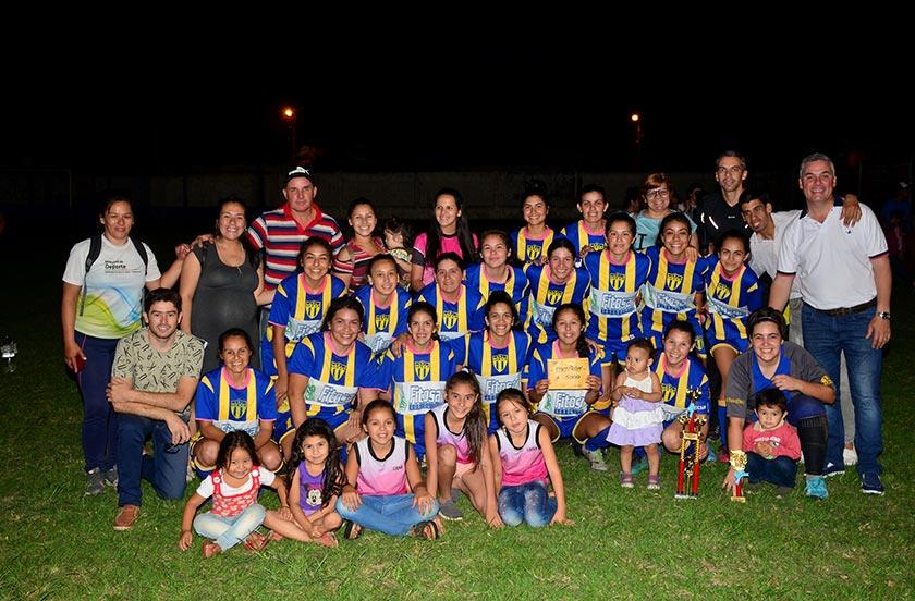 Barrio Norte campeón del fútbol femenino