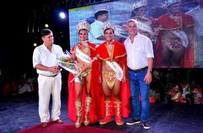 Malena y Mauricio los nuevos soberanos del carnaval bellavistense