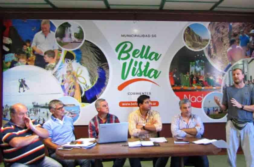 La Federación Correntina de Básquet en Bella Vista