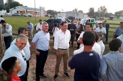 Chavez con Valdés en Colonia Pando