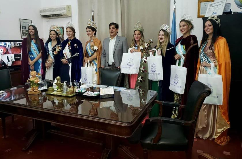 La reina naranjera en la Fiesta Nacional del Pacú 2020