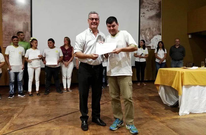 El municipio celebró el éxito de las Pasantías Laborales para chicos especiales