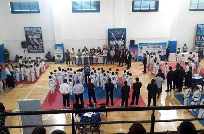 Más de 600 competidores en el apertura del Taekwondo ITF