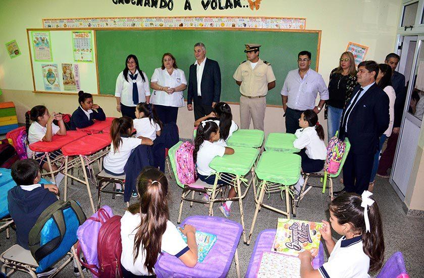 Chavez inauguró el Ciclo Lectivo de Bella Vista
