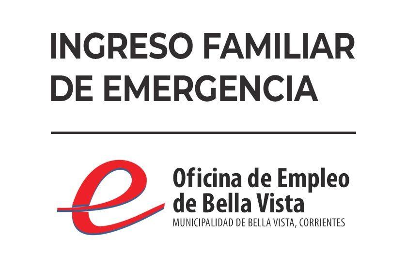 Notifican las formas de solicitud del Ingreso Familiar de Emergencia