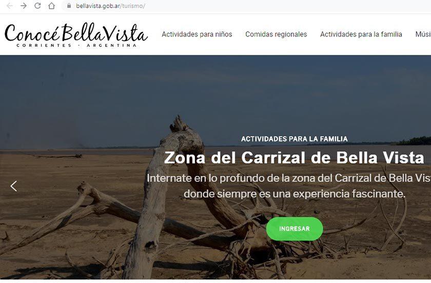 Bella Vista profundiza la opción de turismo virtual