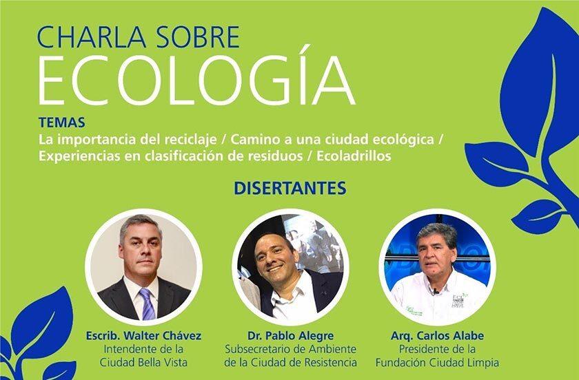 Chavez con el Rotary Club por el medioambiente