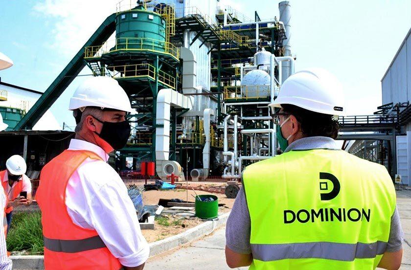 Autoridades de Bella Vista visitaron el Parque Industrial de Santa Rosa