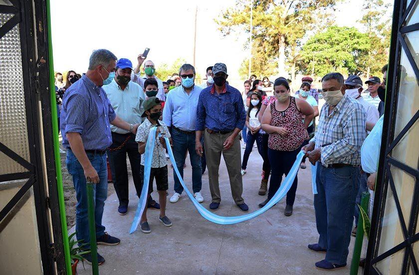 Bella Vista inauguró una SAPS en paraje Cebolla