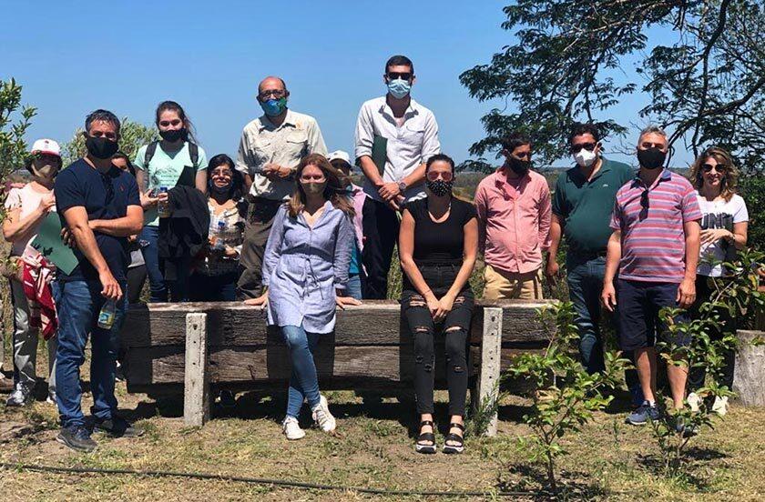 Chavez visitó el proyecto Parque Natural Itá Porá