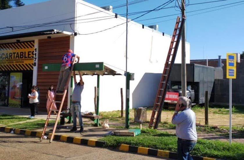 Bella Vista instala sistemas públicos de energía solar