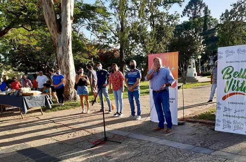 Inauguran Ferias Artesanales itinerantes de verano