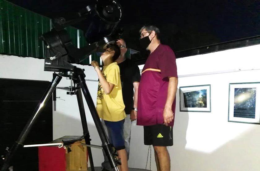 Bella Vista propone 3 días de Observación Astronómica