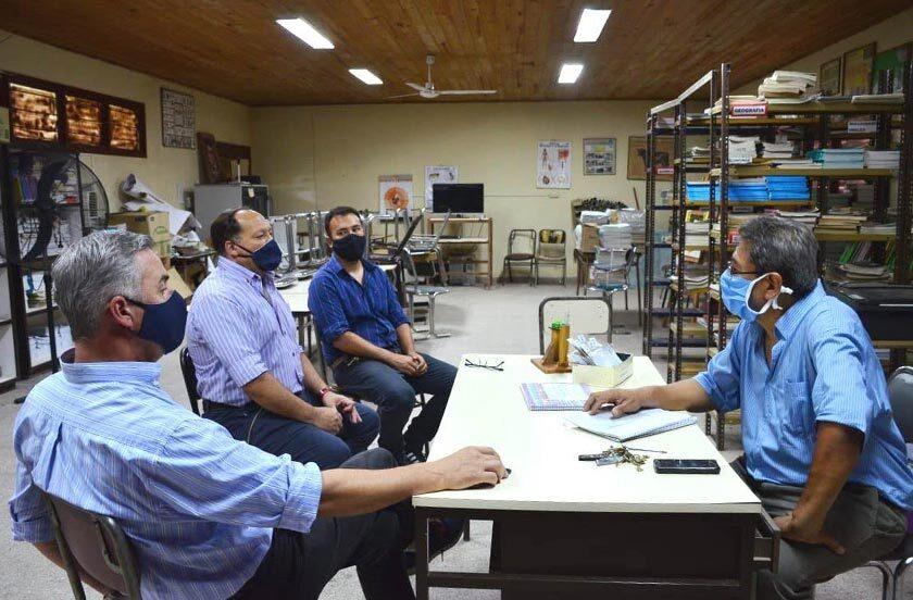 Municipio y Agrotécnica diseñan proyecto productivo