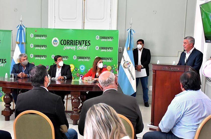 Chavez firmó convenio con el ministerio de Justicia y Derechos Humanos