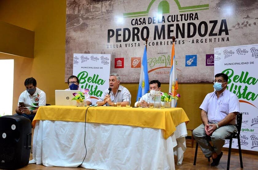 Bella Vista presentó el Torneo de Futsal 2021 de 1° división