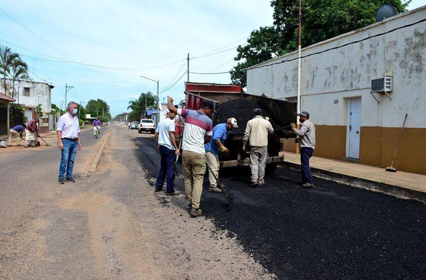 Avanza el plan de mejoramiento de calles