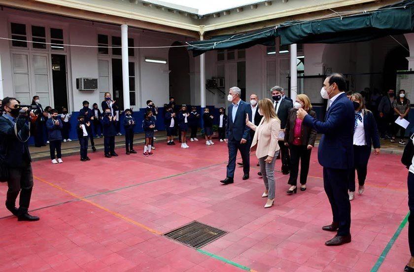 Inauguran obras en el segundo día de la visita del gobernador Valdés