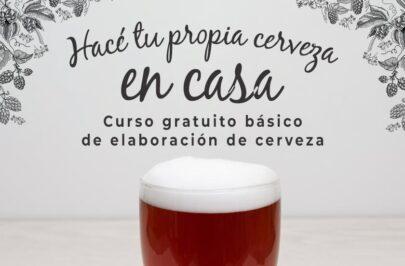El municipio invita al Curso de Elaboración de Cerveza