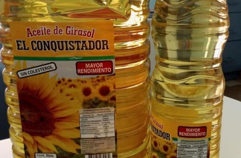 Prohíben la venta de una marca de aceite de girasol