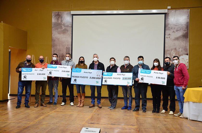 Entregaron los premios del concurso Pinta Payé