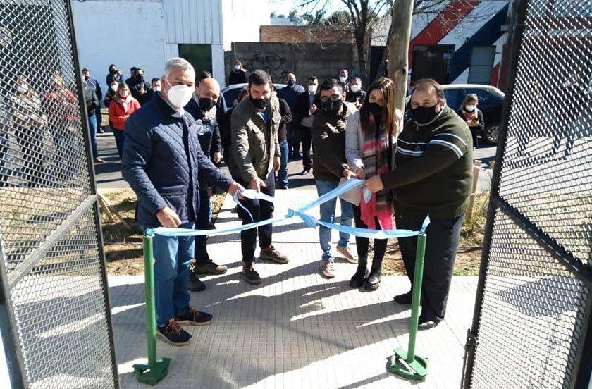 Inauguran edificio para el Centro de Capacitación Construir Empleo