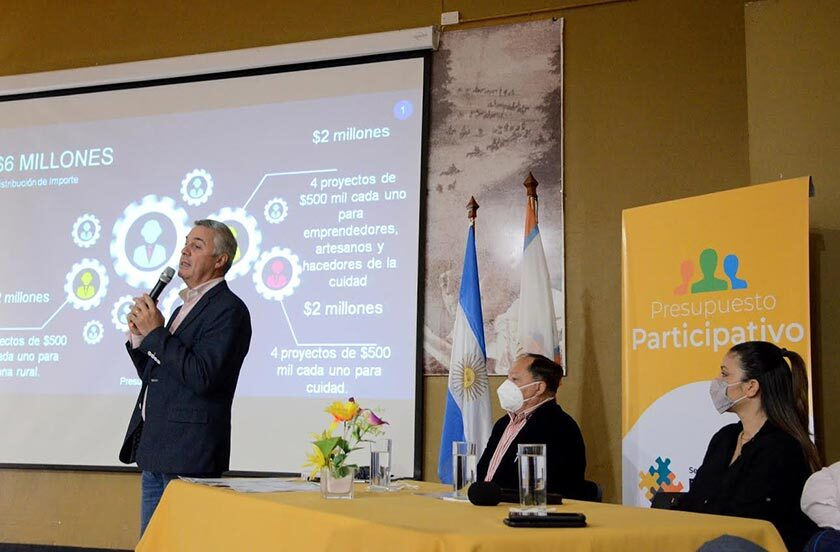 Chavez anunció 6 millones para el Presupuesto Participativo 2021