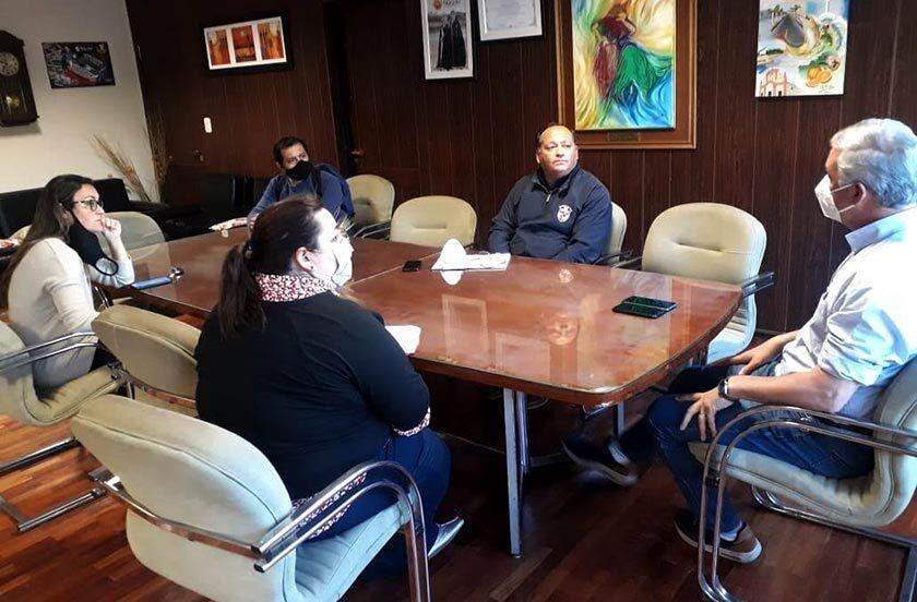 Analizan convenio de cooperación entre Municipio e IFD