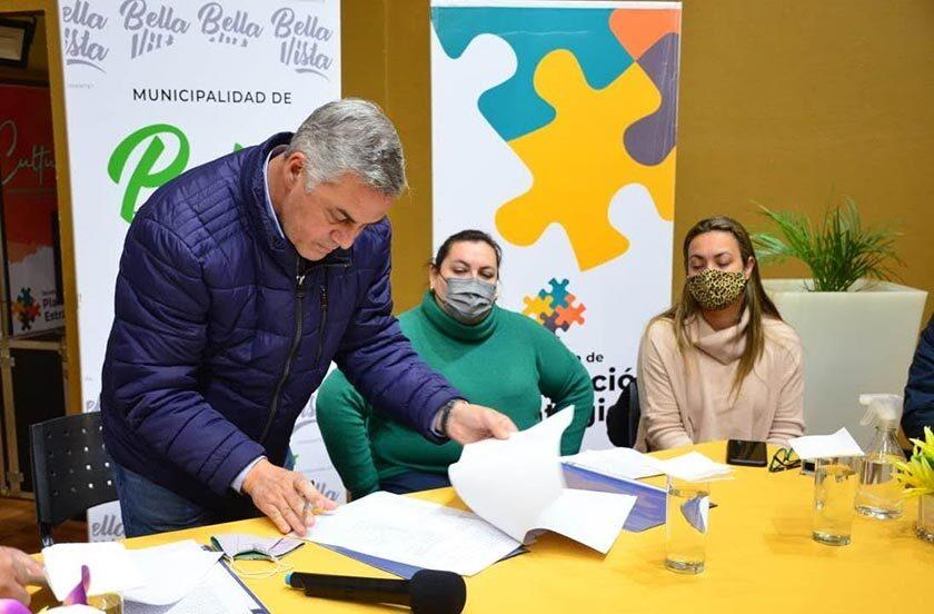 Firman Convenio Municipalidad-IFD