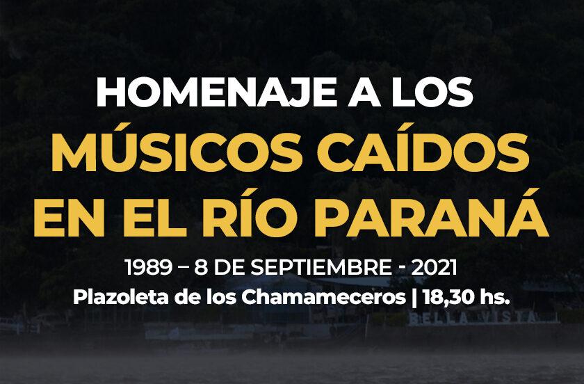 Homenaje a los Músicos Chamameceros 2021