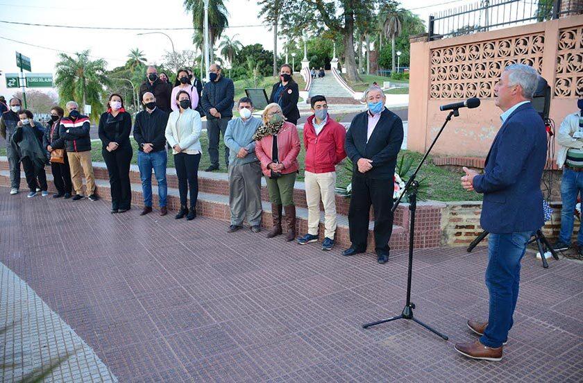 Bella Vista homenajeó a los chamameceros fallecidos en 1989