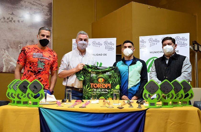 Presentaron el Toropí Trail Run 2021