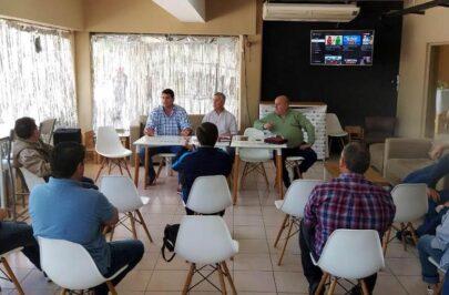 Reunión de la Federación Correntina de Básquetbol en Bella Vista