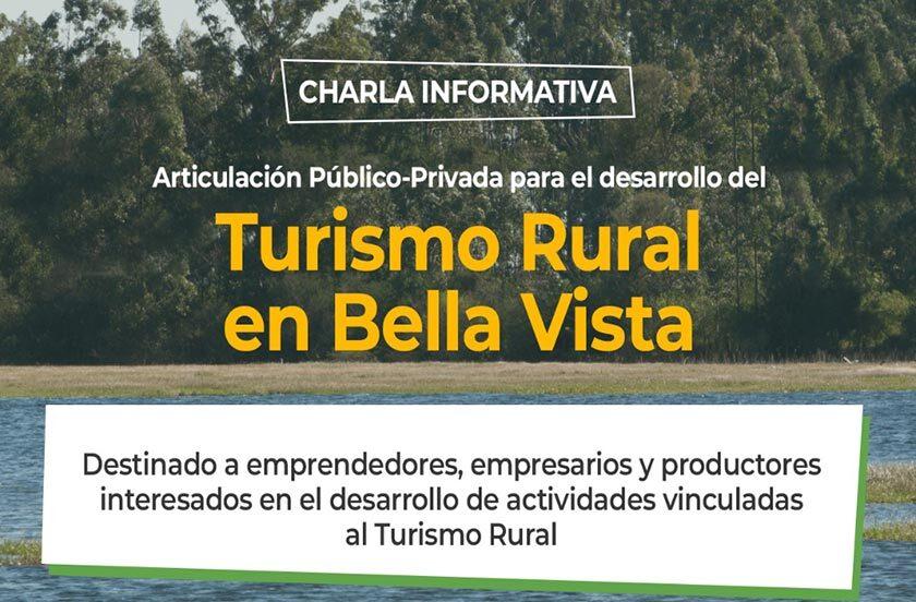 Anticipan jornada de impulso al Turismo Rural