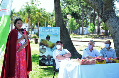Presentaron la 7° edición de la Fiesta Departamental de la Frutilla