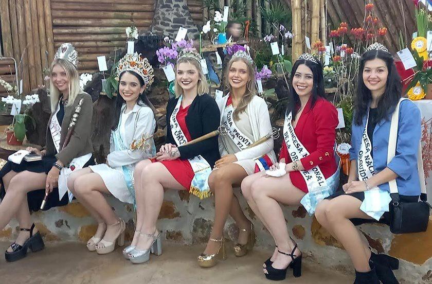 Magalí 1° participó de la Fiesta Nacional de la Orquídea